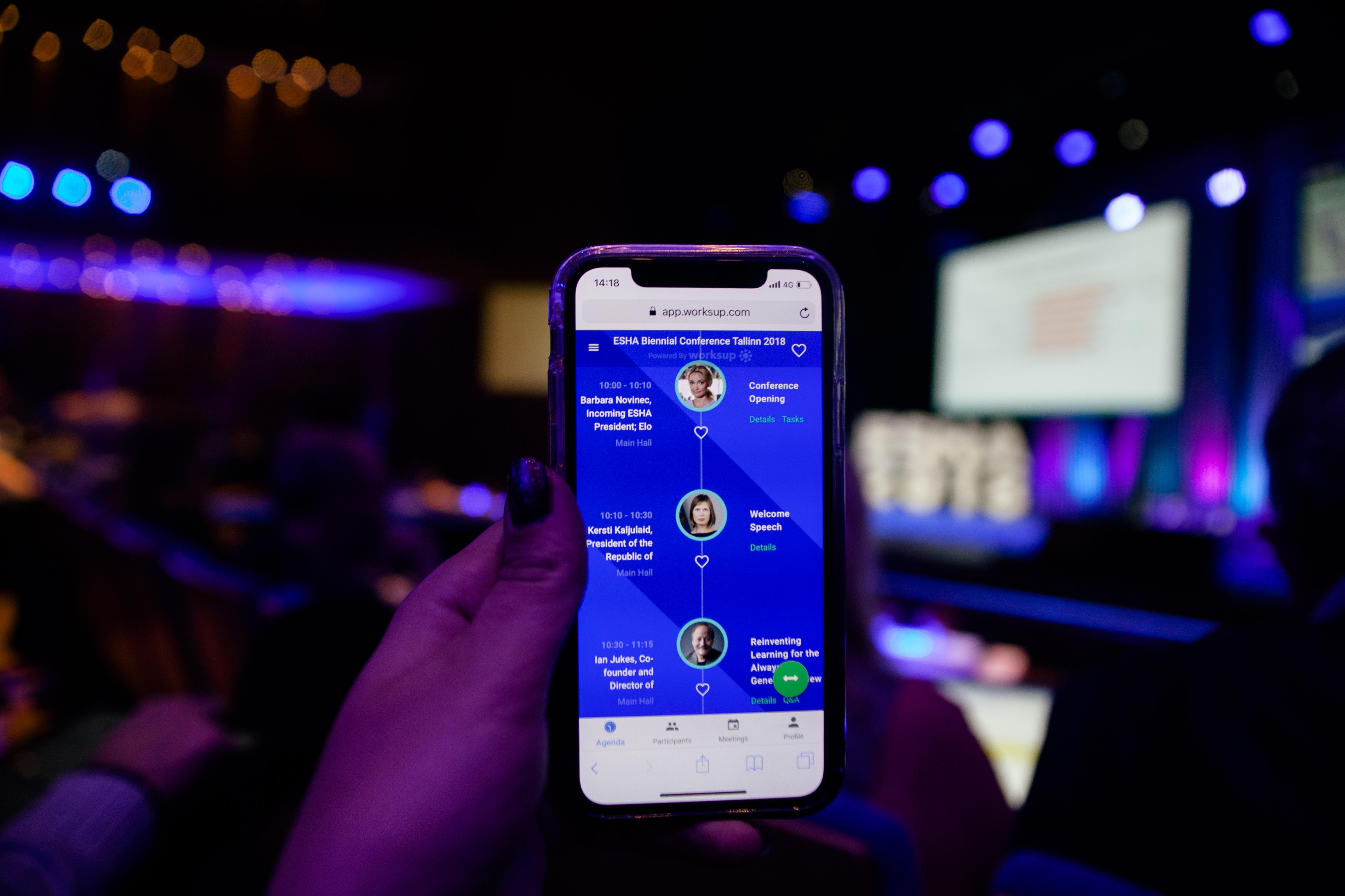 event app, mobile event app, conference app, best event apps