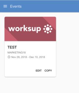 event app, mobile event app, conference app