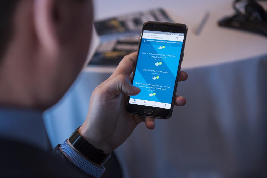 event app, mobile event app