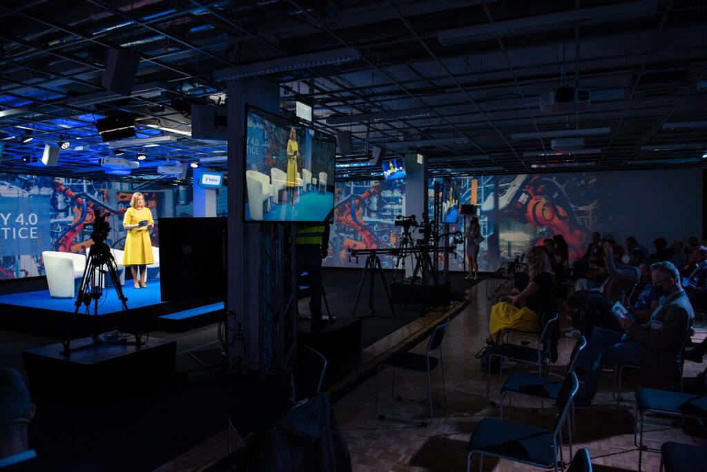 virtual event scene