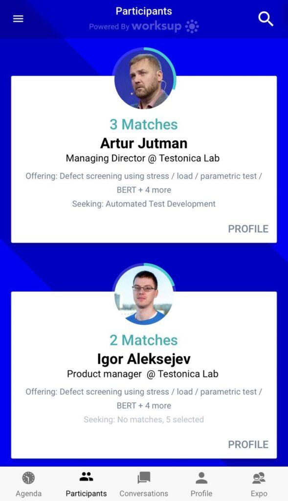 participants matchmaking